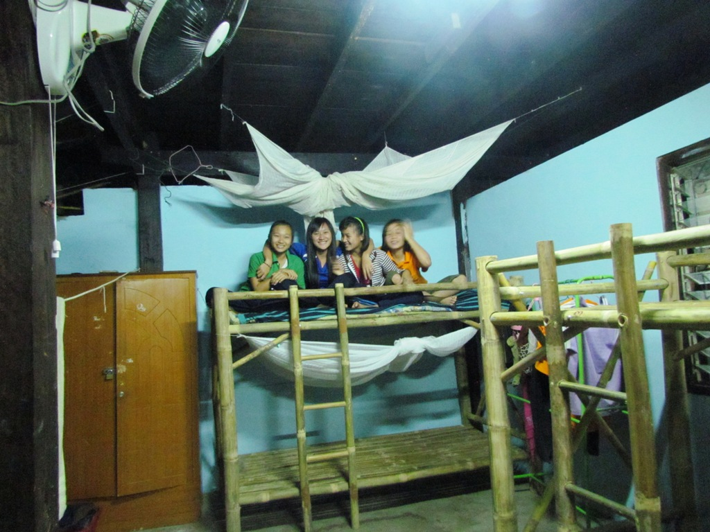 New Bamboo Bunk Beds For 50 Children Thailand Raintree Foundation